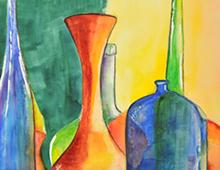 Multi Coloured Glass