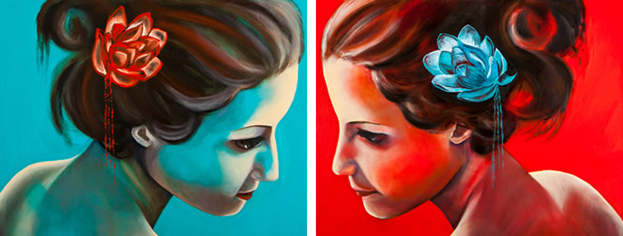 Jenny at ArtHouse Gallery aniversary exhibition