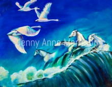 White Swans and White Horses