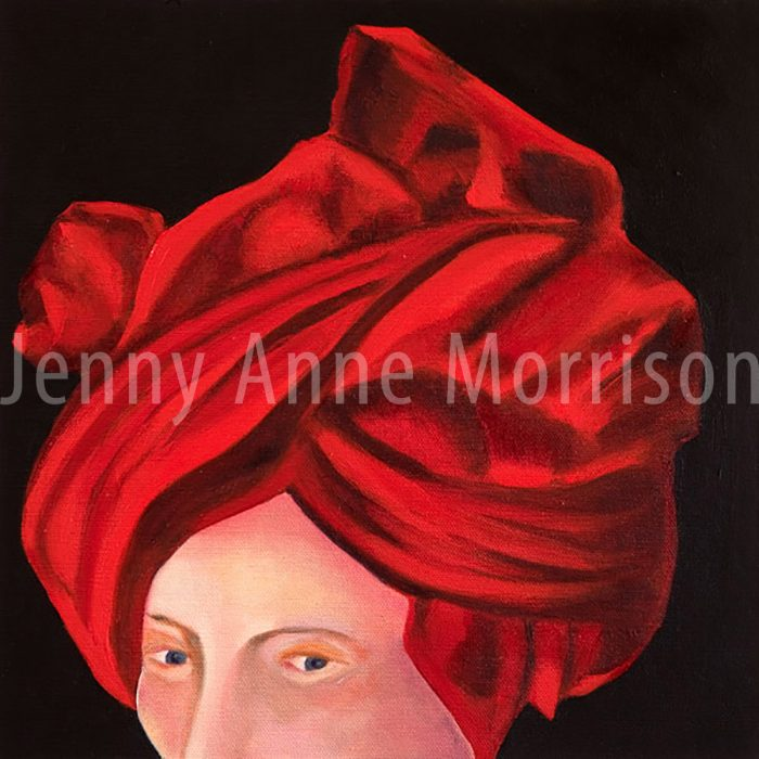 Man in Red Turban