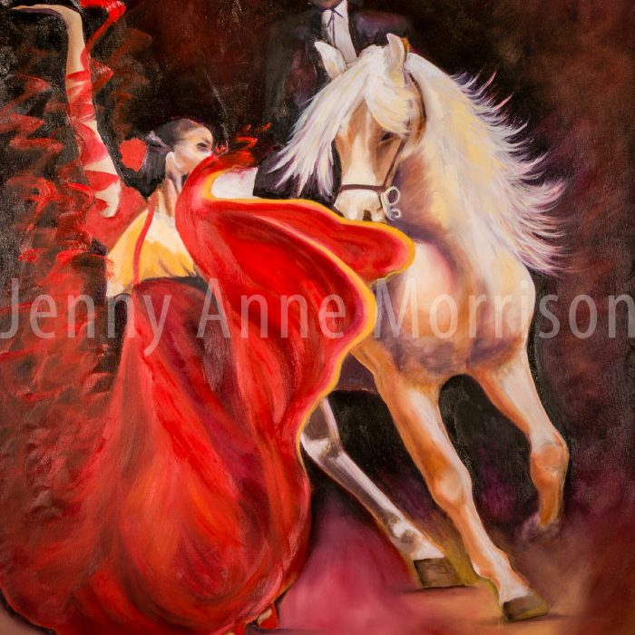 Dance with a White Stallion