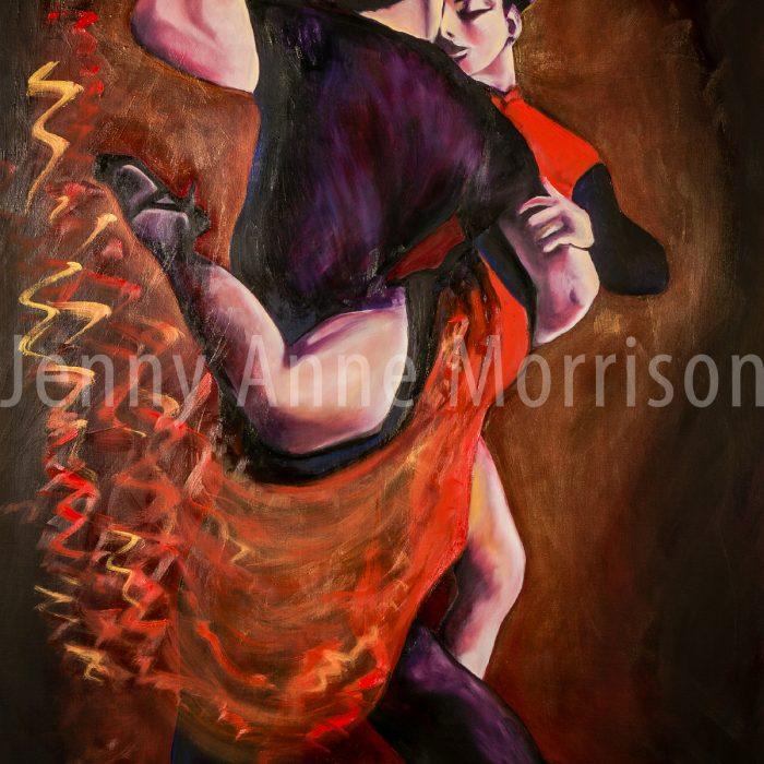 Baile de Tango Rojo
